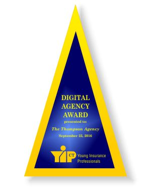 The Thompson Agency's Digital Marketing Award