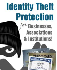 Identity Theft is a real threat, but we can help